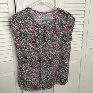 Drop sleeve print blouse from Boden